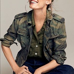 Free People Not Your Brother's Camo Jacket